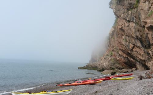 St. Martins New Brunswick Canada Sea Kayaking