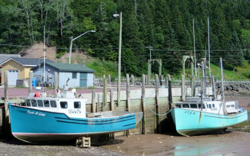 St. Martins Bay of Fundy New Brunswick Canada