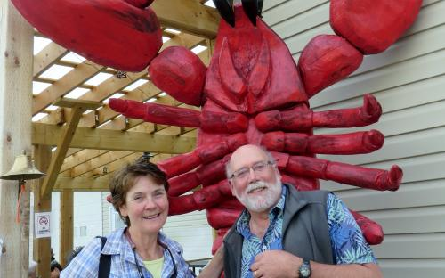 True to Life Size Lobster in Alma