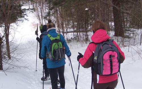 Snowshoe the trail less traveled in Robert Frost CountryVermont