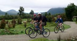 New Zealand West Coast Wildnerness Trail Bicycling